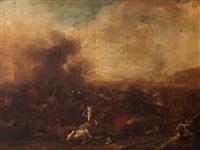 battle scene by dutch school (18)