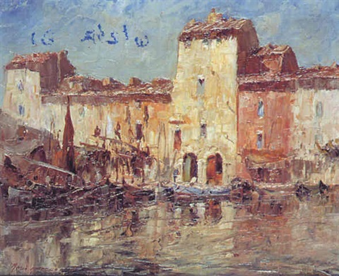 Bastia Le Vieux Port By Mario Ameglio On Artnet