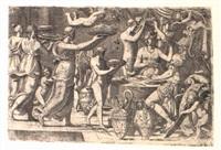 mars et vénus servis à table par l'amour et les grâces by leonard thiry