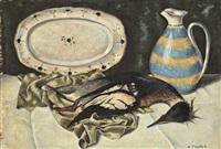 composition au plat au pichet et à l'oiseau by andré charles tzanck
