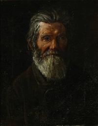 portræt af en bondemand by laurits andersen ring