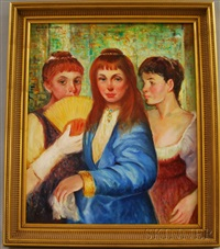 three girls by allan davidson