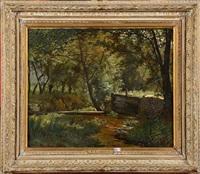 petit barrage sur la woluwe by paul j. lauters