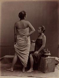 malay women by lambert, gr. & co.