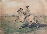 le brésilien à cheval by henri langerock