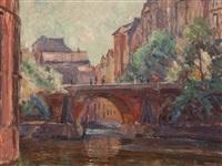 stadthaus bridge hamburg by hugo volkwarth
