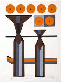 baxter theatre prints (set of 3) by edwine simone