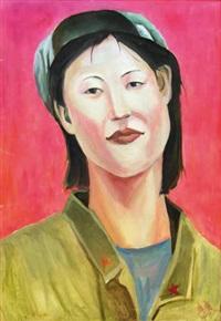 portrait de chinoise by xi bin