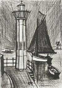 le phare by bernard buffet
