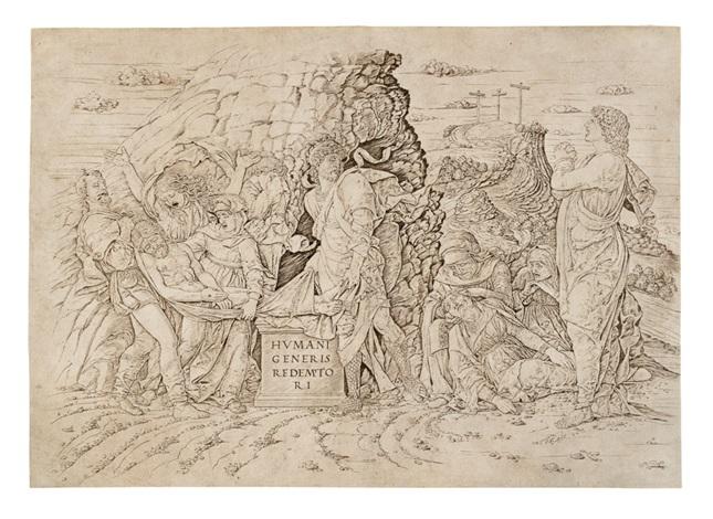 la deposizione nel sepolcro by andrea mantegna