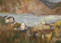 pueblo con mar by emili bosch roger