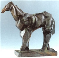 cheval (pferd) by raymond duchamp-villon