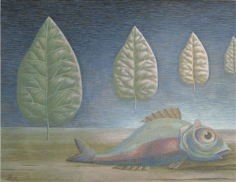 fish in a landscape by john armstrong
