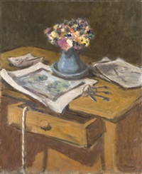 bouquet de fleurs by robert pikelny