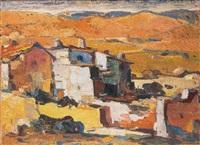 paisaje con pueblo by virgilio albiac