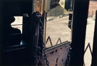 on the el by saul leiter