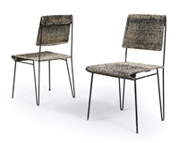 chairs (pair) by carl auböck