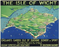the isle of wight by george ayling