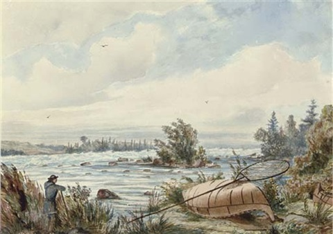 rapids at sault ste marie by william wallace armstrong