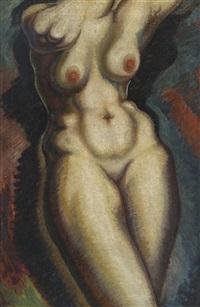 nude, torso by alexander archipenko