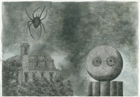 the specter from the magician's museum by edward gorey