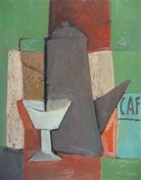 composición con cafetera by alberto delmonte
