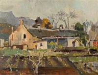 cottages by gregoire johannes boonzaier
