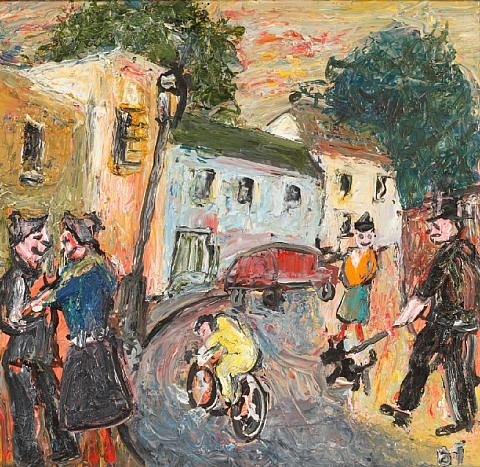 bristol street scene by barrington tabb