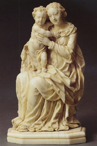 the virgin and child by hans georg fux