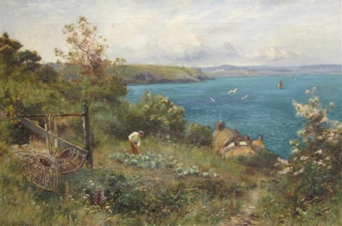 summer time on the coast by walter stuart lloyd