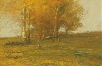afternoon light (october afternoon) by john francis murphy
