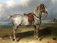 cheval by françois emile de lansac