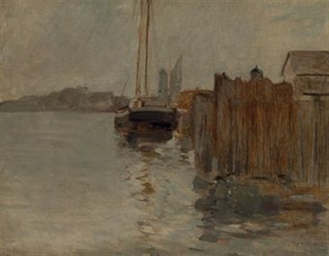 harbor view by john henry twachtman