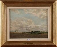paysage by hippolyte emmanuel boulenger