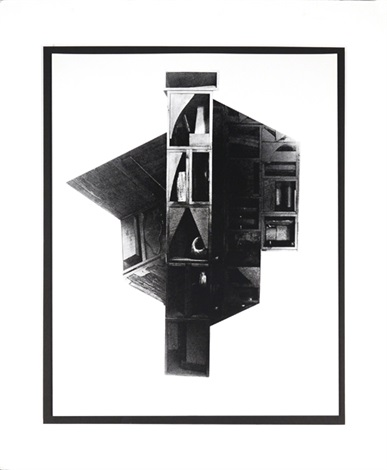 facades 2 by louise nevelson
