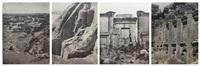 égypte, nubie, palestine, syrie (5 works) by maxime du camp
