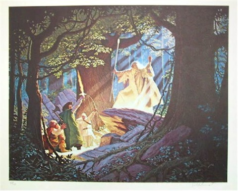 gandalf the white by greg tim hildebrandt brothers
