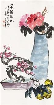 岁朝清供 by chen banding