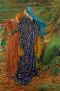 in awe by edwin austin abbey