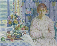pink and blue by louis ritman