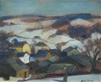 paysage by albert raty
