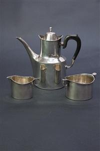 kaffeeservice (set of 3) by hans hansen (co.)