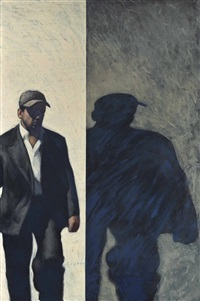 man and shadow by stephen conroy