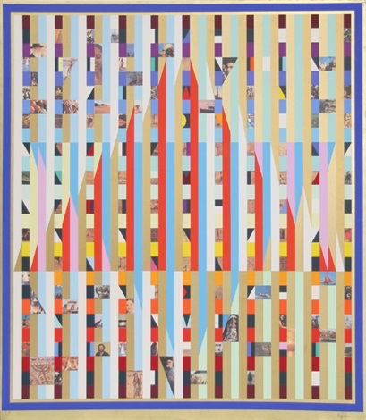 homage to israel by yaacov agam