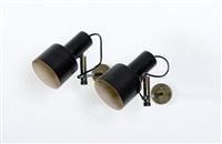 coppia di lampade da parete by giuseppe ostuni