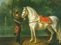 cheval de charles iv, roi d'espagne by étienne-louis advinent