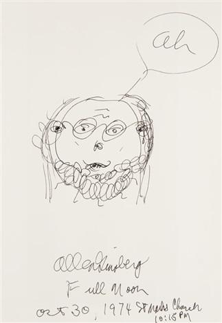 self portrait by allen ginsberg