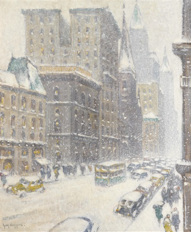 fifth avenue midtown by guy carleton wiggins