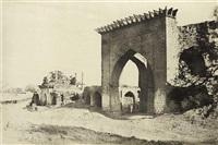 gateway for the nukar khana of nawab mustafa khan's palace by thomas biggs