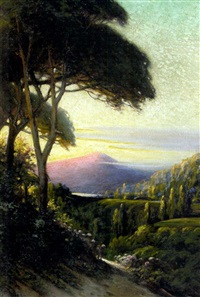 a marin landscape by charles albert rogers